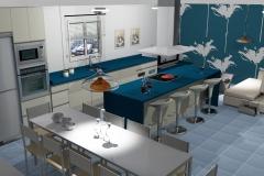 cocina 3d vector z 1