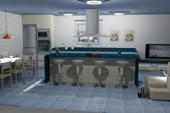 cocina 3d vector z