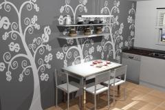 cocina moderna teowin vector z