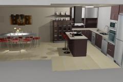 Render 3D Cocinas – Vector Z